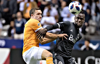 Vancouver Whitecaps ties Houston Dynamo during MLS regular season match