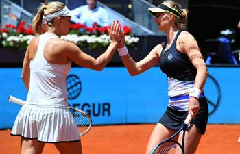 Vesnina, Makarova win Madrid Open women's doubles