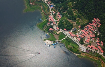 Lake scenery in Guiyang, SW China