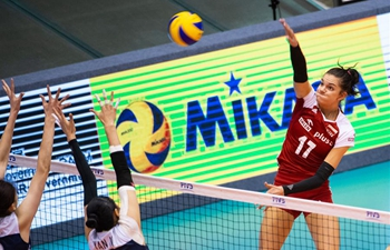 Poland, China compete at FIVB Volleyball Nations League