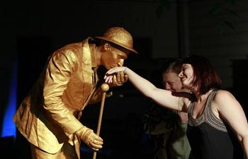 8th International Festival of Living Statues held in Bucharest, Romania