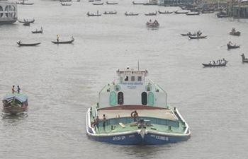 Water transportation still important in Bangladesh