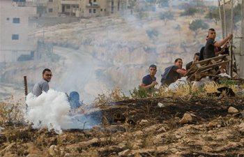 Palestinians make their way to attend Ramadan Friday prayer in Jerusalem