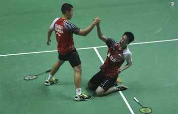 Team China, team Indonesia compete at BWF Thomas Cup 2018 semifinal