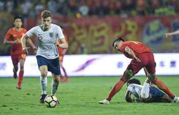 England U19, China U19 compete at 2018 Panda Cup Int'l Youth Football Tournament