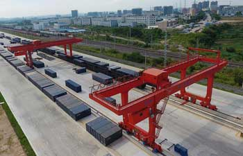 In pics: Nanning Railway Logistics Center in China's Guangxi