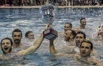 Olympiacos wins Greece's men water polo championship