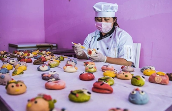 In pics: buns made from vegetable and fruit
