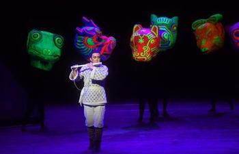 """Opera classic """"Die Zauberfloete"""" performed in Beijing"""