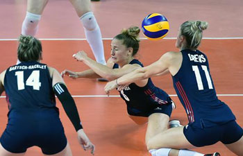 FIVB Volleyball Nations League: U.S. beats Russia 3-0