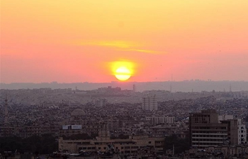 In pics: sunrise view over Aleppo city, N Syria
