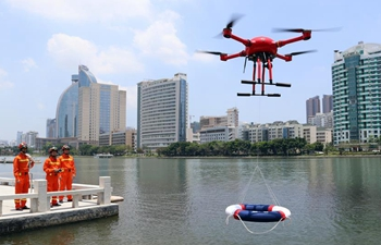 Drones embedded in people's lives across China