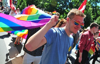 Around 8,000 people march in Baltic Pride parade in Riga