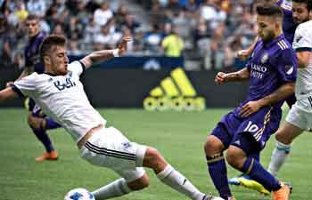 Vancouver Whitecaps beats Orlando City SC 5-2 during MLS match