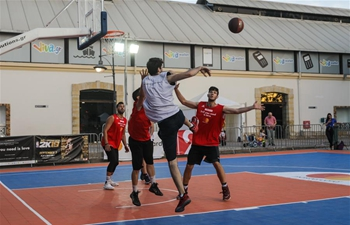 """Ball you need is love"" event held in Athens, Greece"