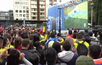 Japan beats Colombia 2-1, Colombian fans remain optimistic