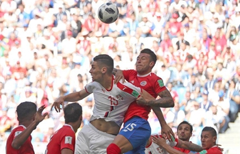 World Cup: Costa Rica vs. Serbia