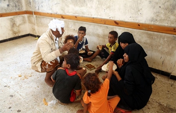 In pics: displaced people in Hodeidah city, Yemen