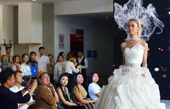 Fashion contest staged as a job-hunting platform in China's Tianjin