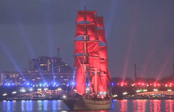 St. Petersburg's Scarlet Sails 50th anniversary wows WC2018 fans