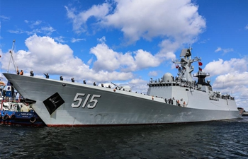 "Chinese frigate ""Binzhou"" starts five-day visit to Poland"
