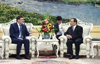 China's national supervisory commission director meets with Ukrainian prosecutor general in Beijing