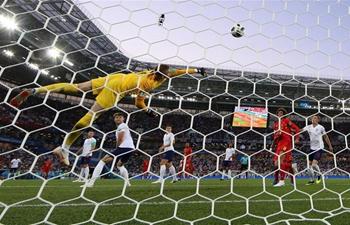 Belgium beats England 1-0 in World Cup Group G match