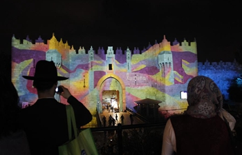Highlights of Jerusalem light festival 2018