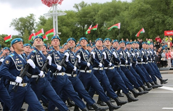 Military parade marks Independence Day in Minsk, Belarus