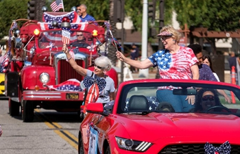 Annual Fourth of July Parade held in California
