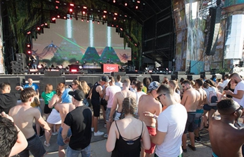 Balaton Sound music festival held in Zamardi, Hungary