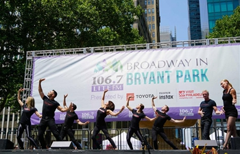 Broadway in Bryant Park 2018 kicks off in New York