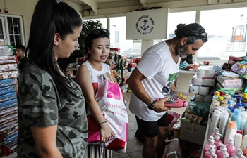 Chinese people offer assistance to people affected by Greek wildfires