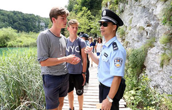 Joint patrol between Chinese, Croatian police launched in Zagreb