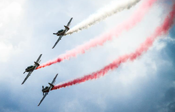 2018 Mazury Air Show held in Gizycko, Poland