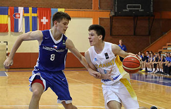 Czech Republic beats Ukraine 96-88 at FIBA U16 European Championship
