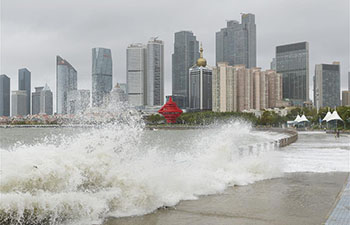 Typhoon Yagi hits Qingdao, east China's Shandong