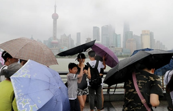 Typhoon Rumbia makes landfall in Shanghai