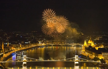 Hungarian national holiday celebrated in Budapest