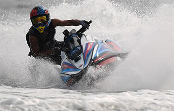 Highlights of ski modified final moto 2 of Jetski at Asiad