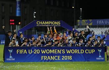 Japan wins 2018 FIFA U-20 Women's World Cup in Vannes, France