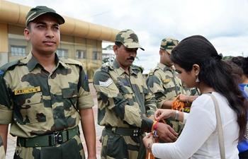 Raksha Bandhan festival marked in India