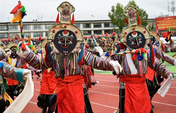 16th Qomolangma Culture and Tourism Festival held in SW China's Tibet