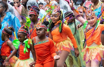 Children's Day Parade held during Notting Hill Carnival in London