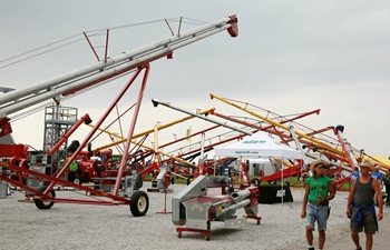 2018 Farm Progress Show kicks off in Iowa, U.S.