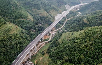 52-km-long expressway opens to traffic in SW China's Guizhou