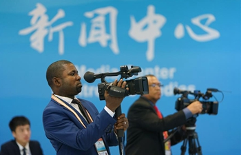 Journalists cover Beijing Summit of FOCAC