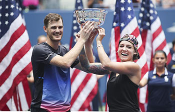 Mattek-Sands, Murray win U.S. Open mixed doubles title
