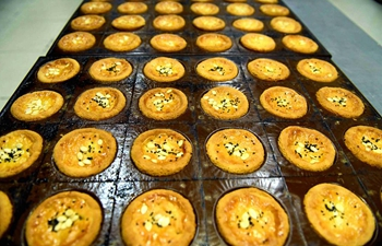 Mooncake, traditional dessert of Mid-Autumn Festival