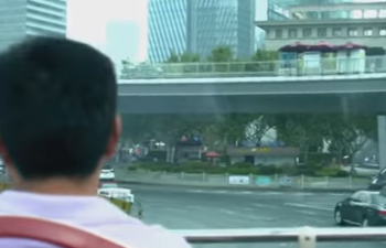 A bus tour of Shanghai's Pudong New Area